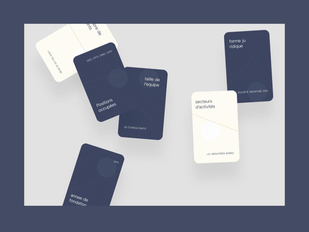 Prototype de cartes M&BD