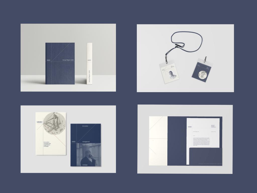 Autres prototypes du nouveau branding M&BD