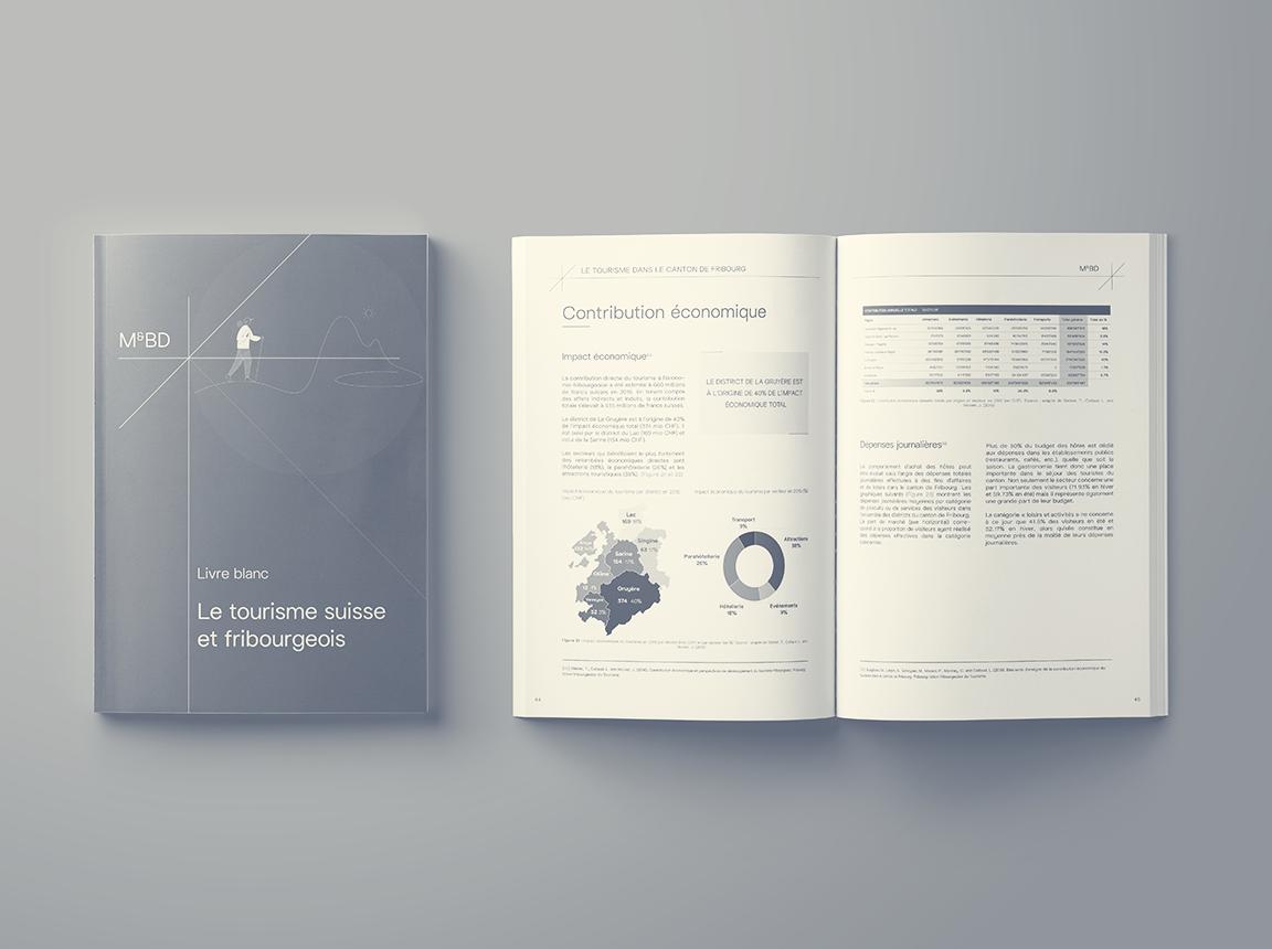 Livre blanc: Le tourisme suisse et fribourgeois