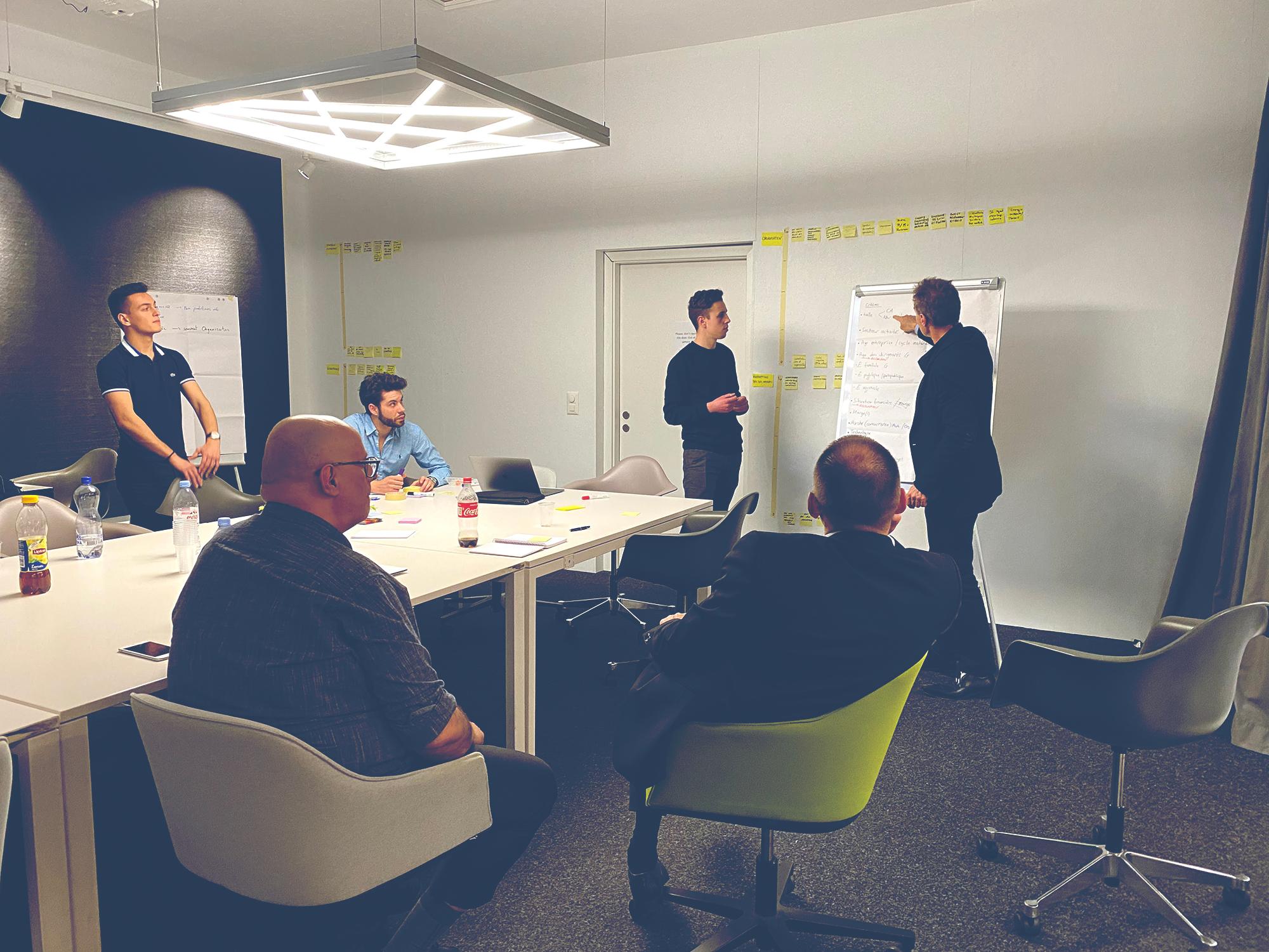 Collaboration avec les étudiants CREA : point de situation à mi-projet
