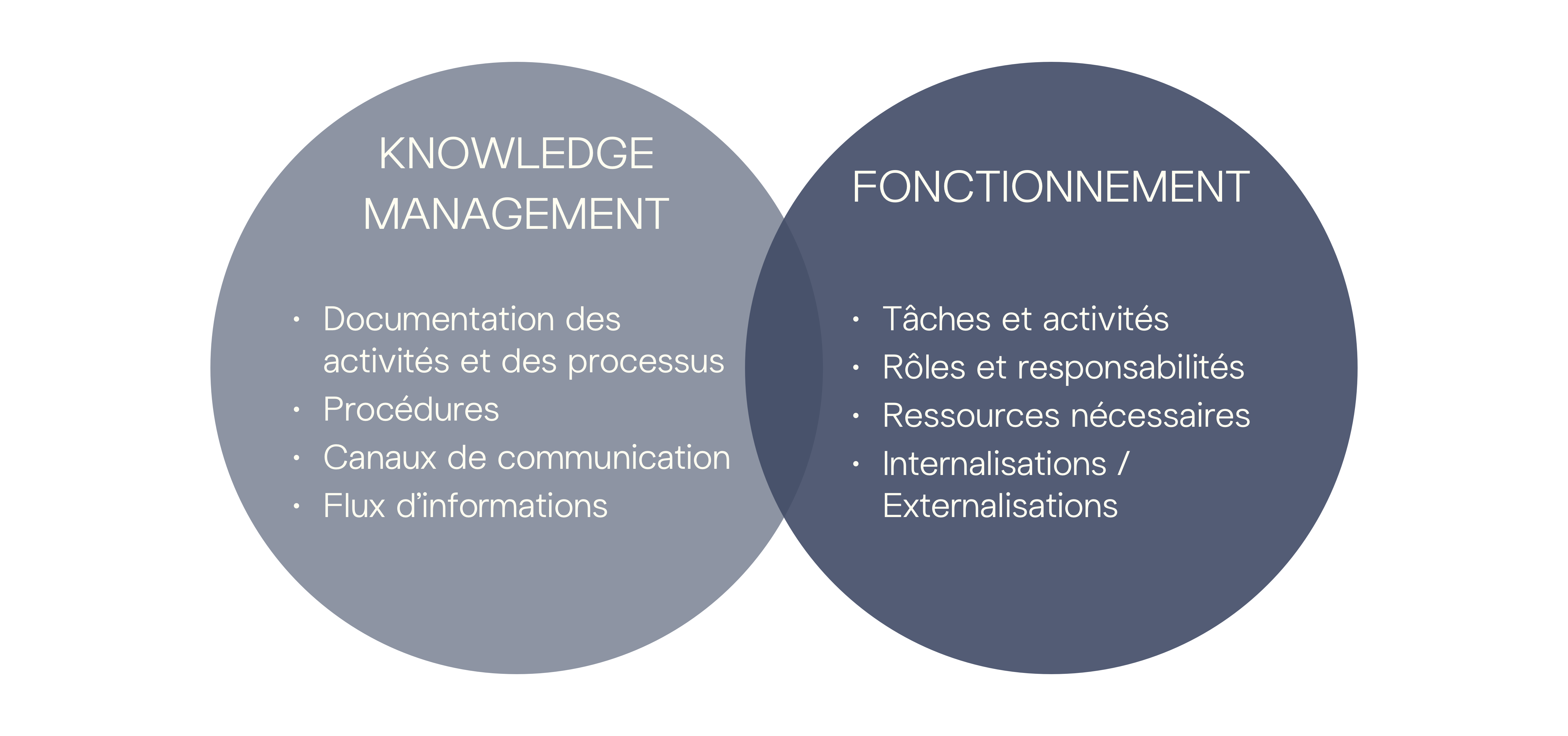 Analyse du Knowledge Management et du Fonctionnement