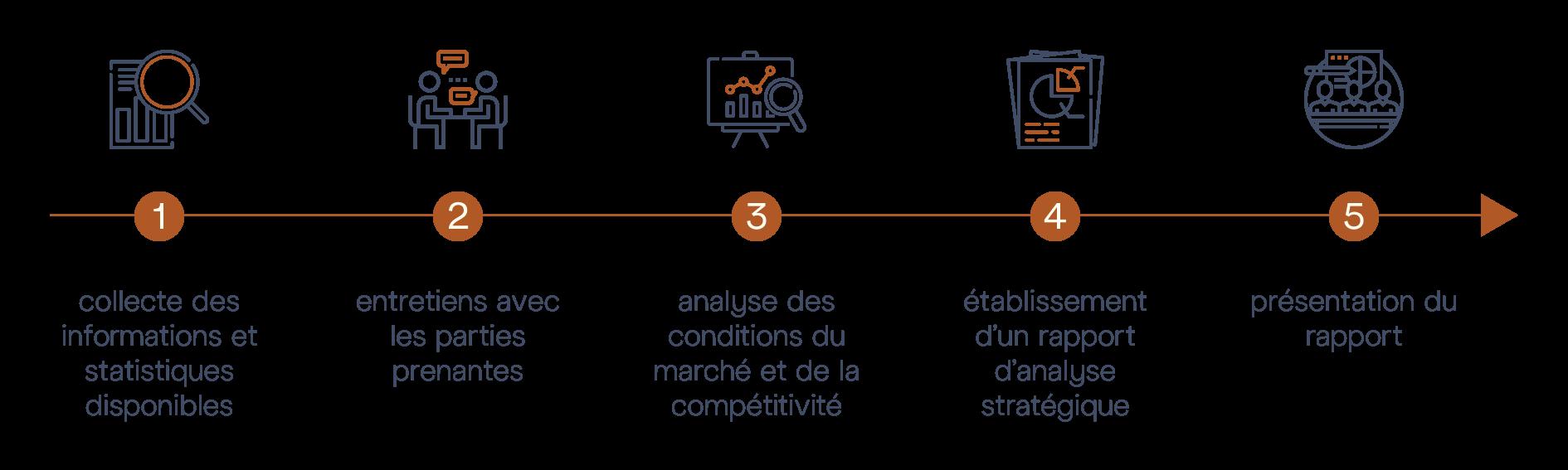 Audit Stratégie M&BD © - Diagram Steps