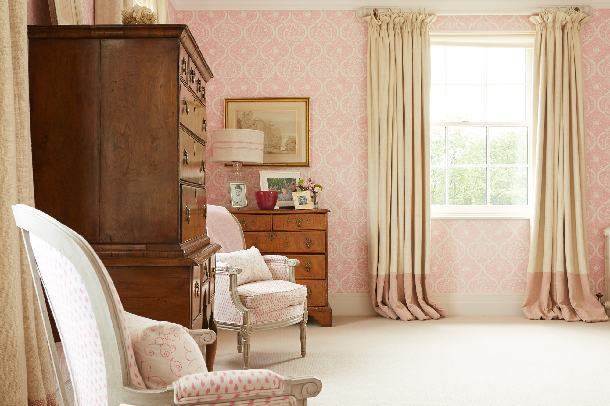 Bedroom deatil – interior design by Eadie & Crole