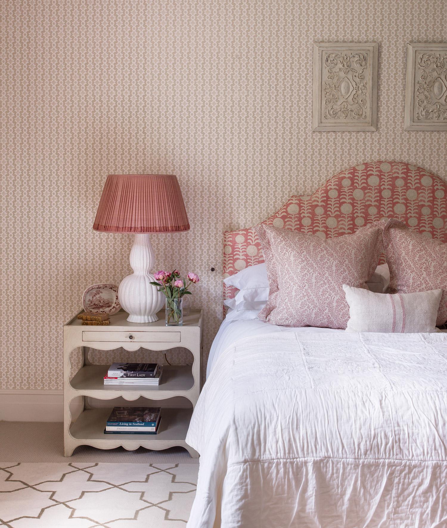 Bedroom detail – interior design by Eadie & Crole