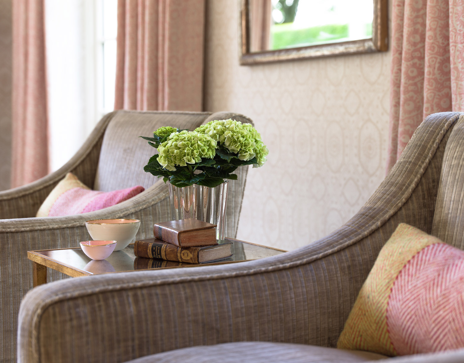 Twin Chairs – interior design by Eadie & Crole
