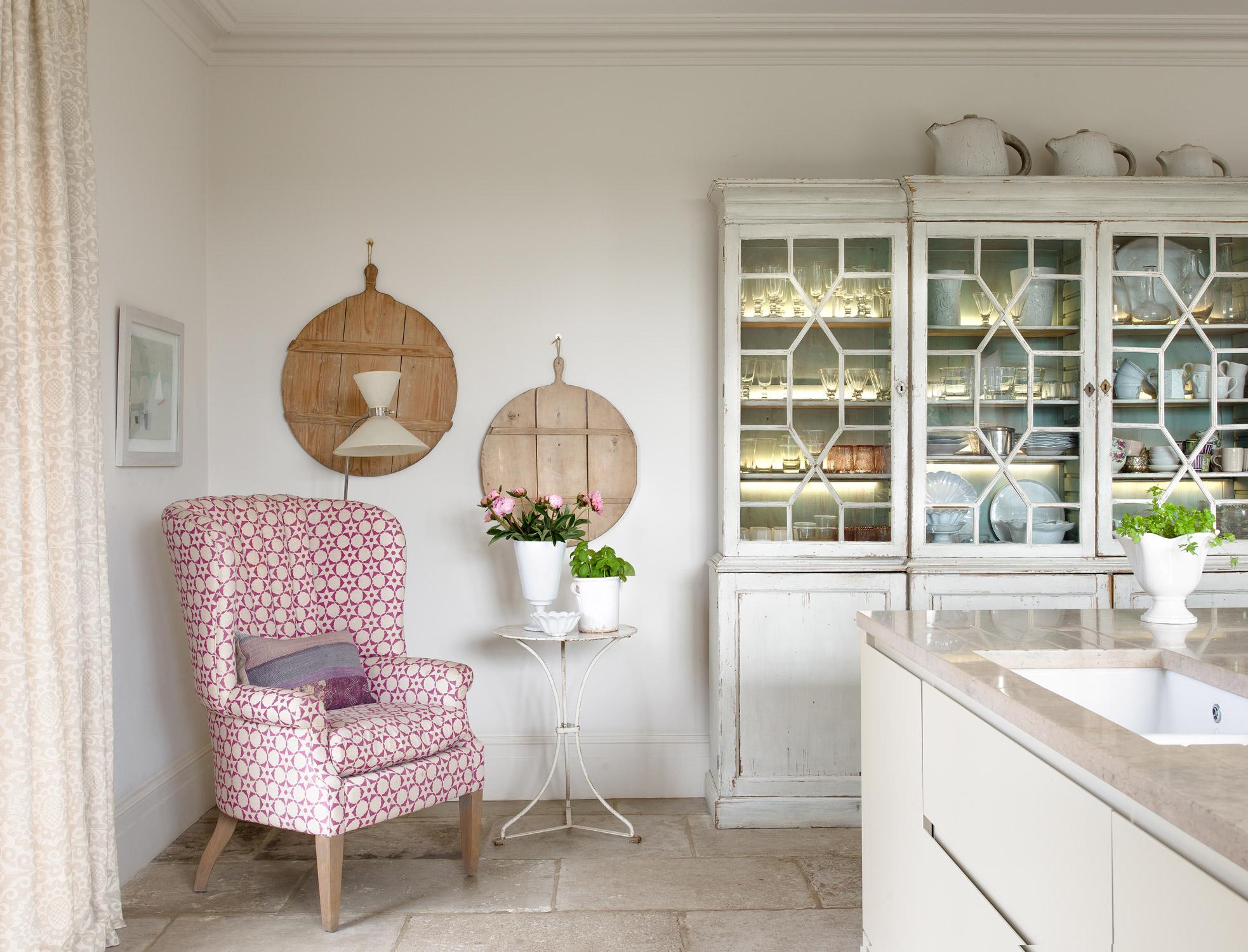 kitchen chair – interior design by Eadie & Crole