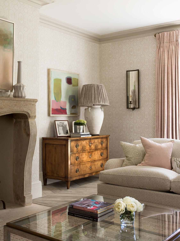 Drawing room – interior design by Eadie & Crole