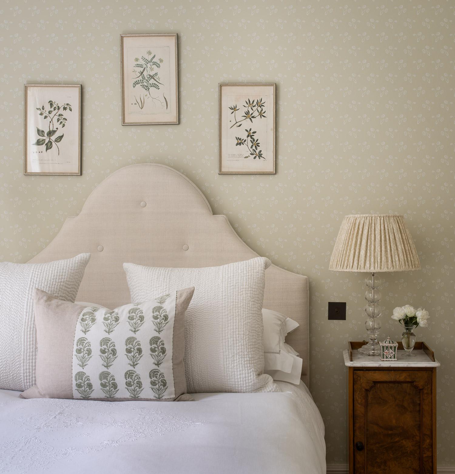 Bedroom – interior design by Eadie & Crole