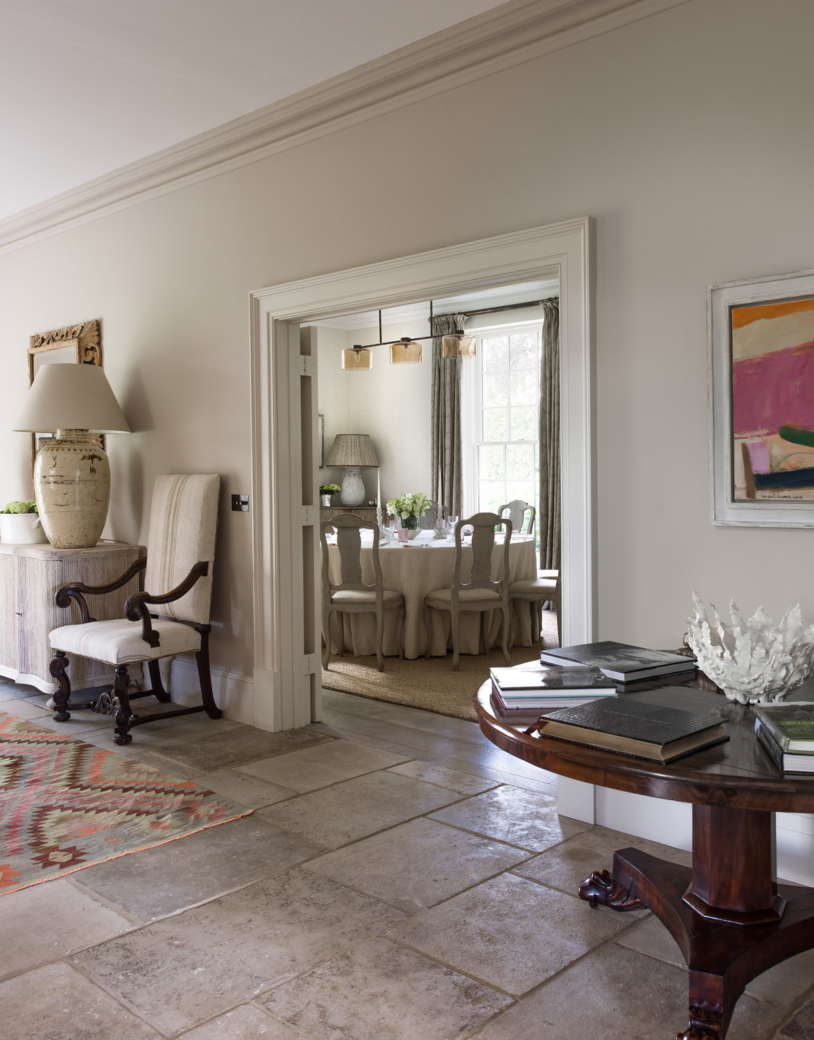 Hall view – interior design by Eadie & Crole