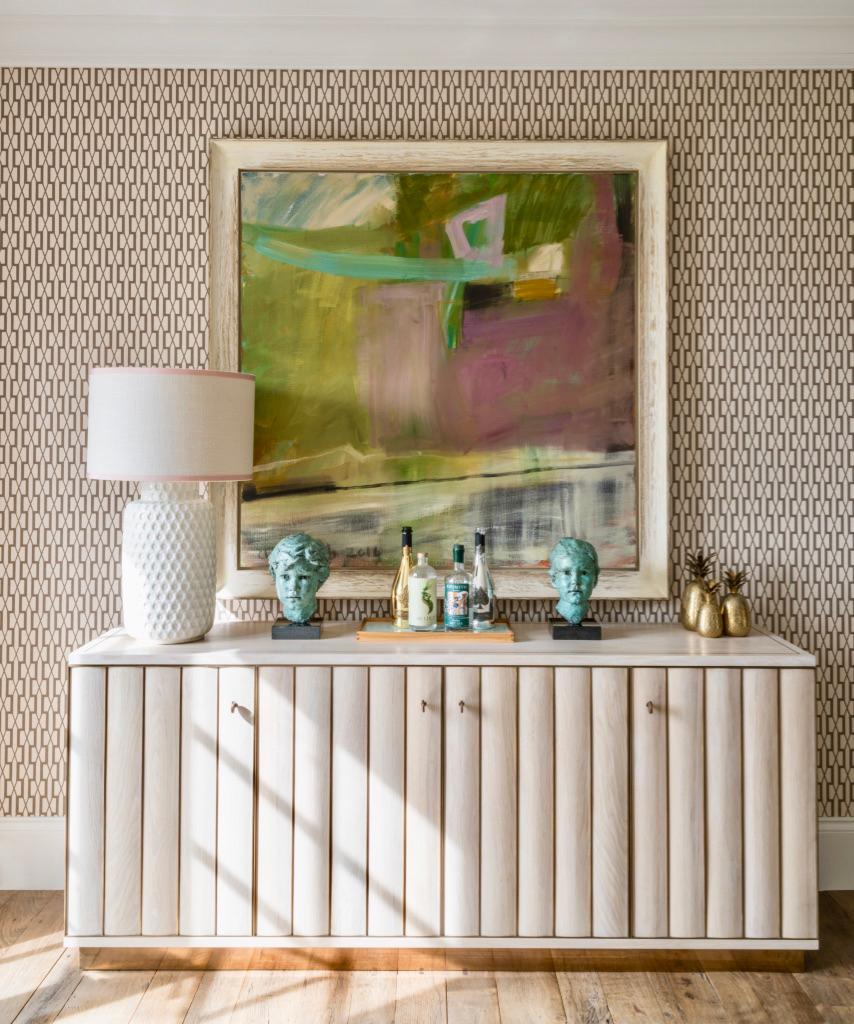 cabinet detail – interior design by Eadie & Crole