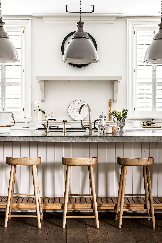 kitchen seating – interior design by Eadie & Crole