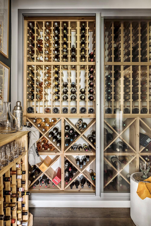 Cupboard cellar – interior design by Eadie & Crole