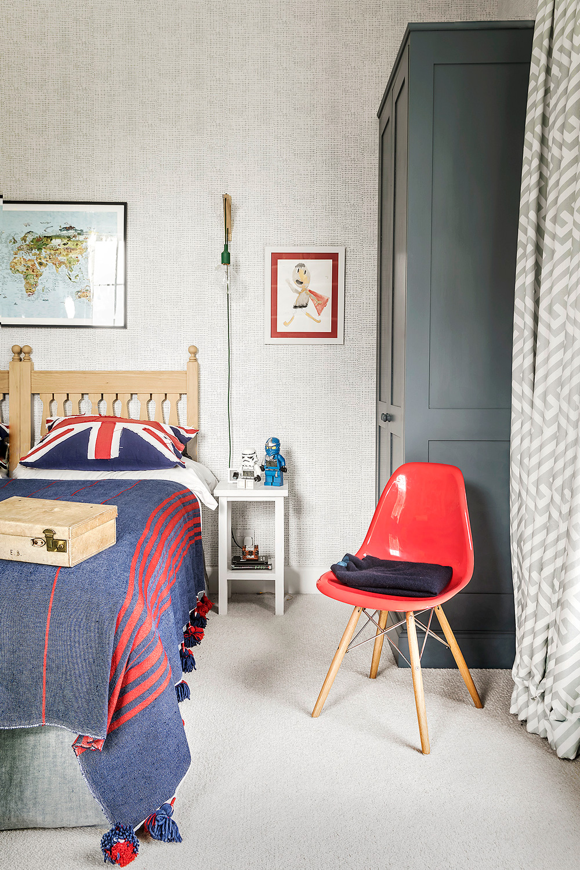 Child's bedroom – interior design by Eadie & Crole