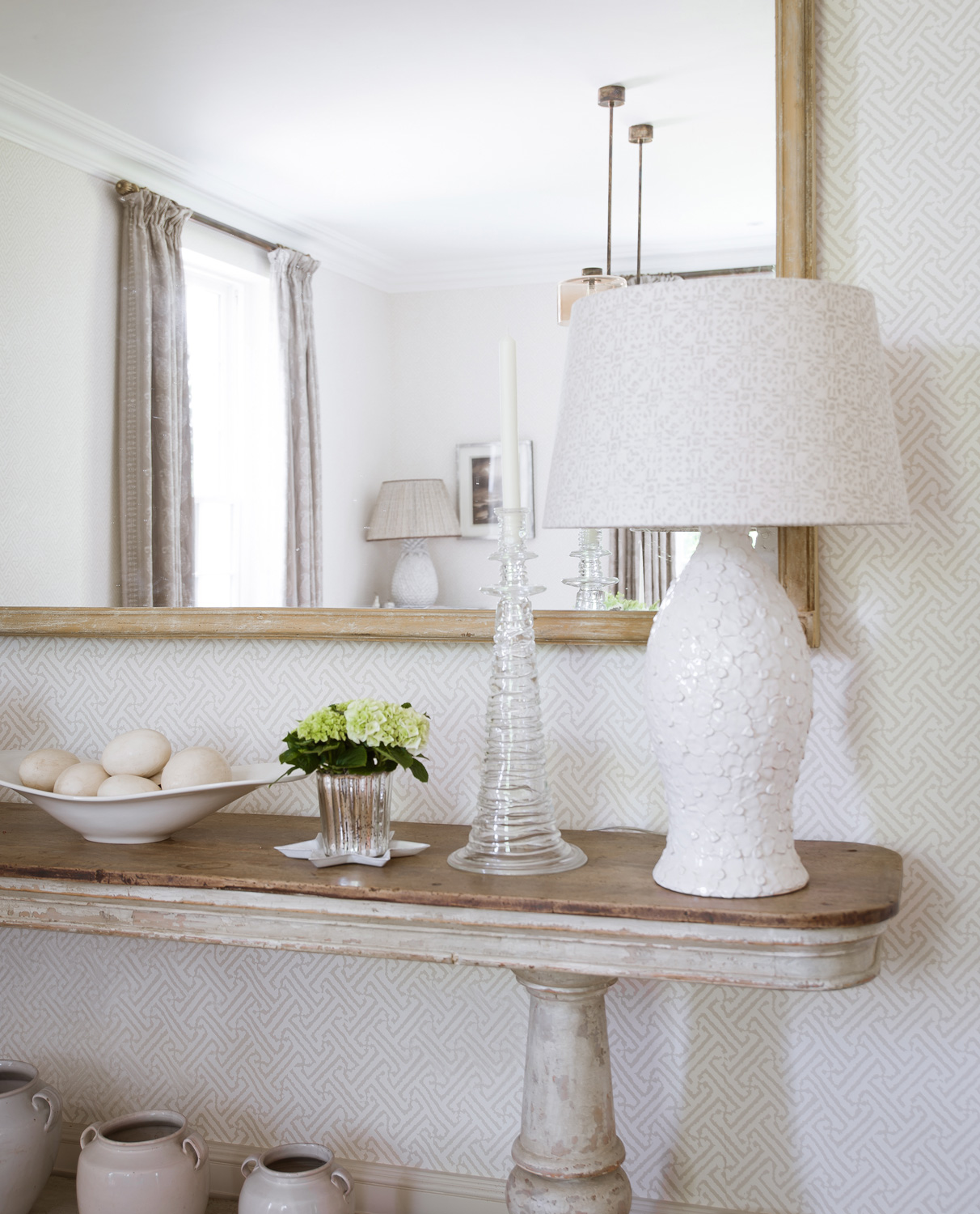 console table – interior design by Eadie & Crole