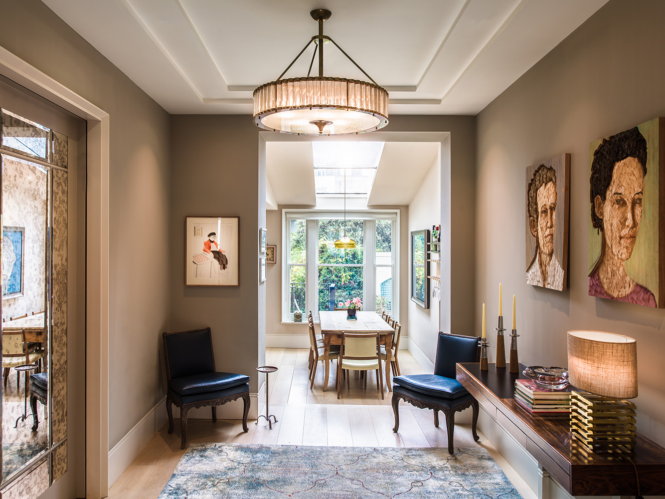 Study detail – interior design by Eadie & Crole