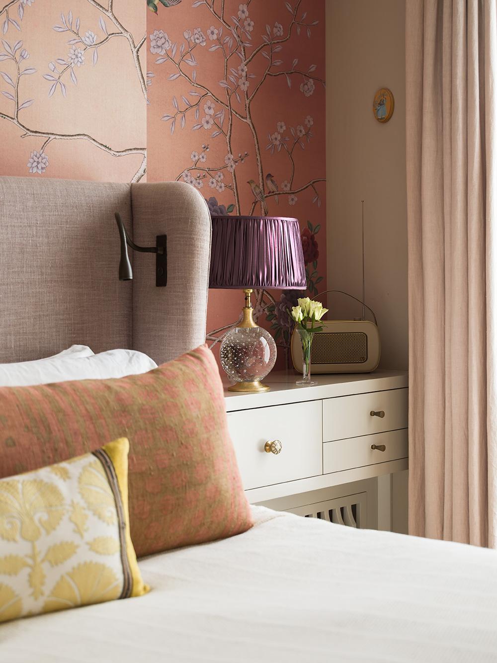 Cushion detail – interior design by Eadie & Crole