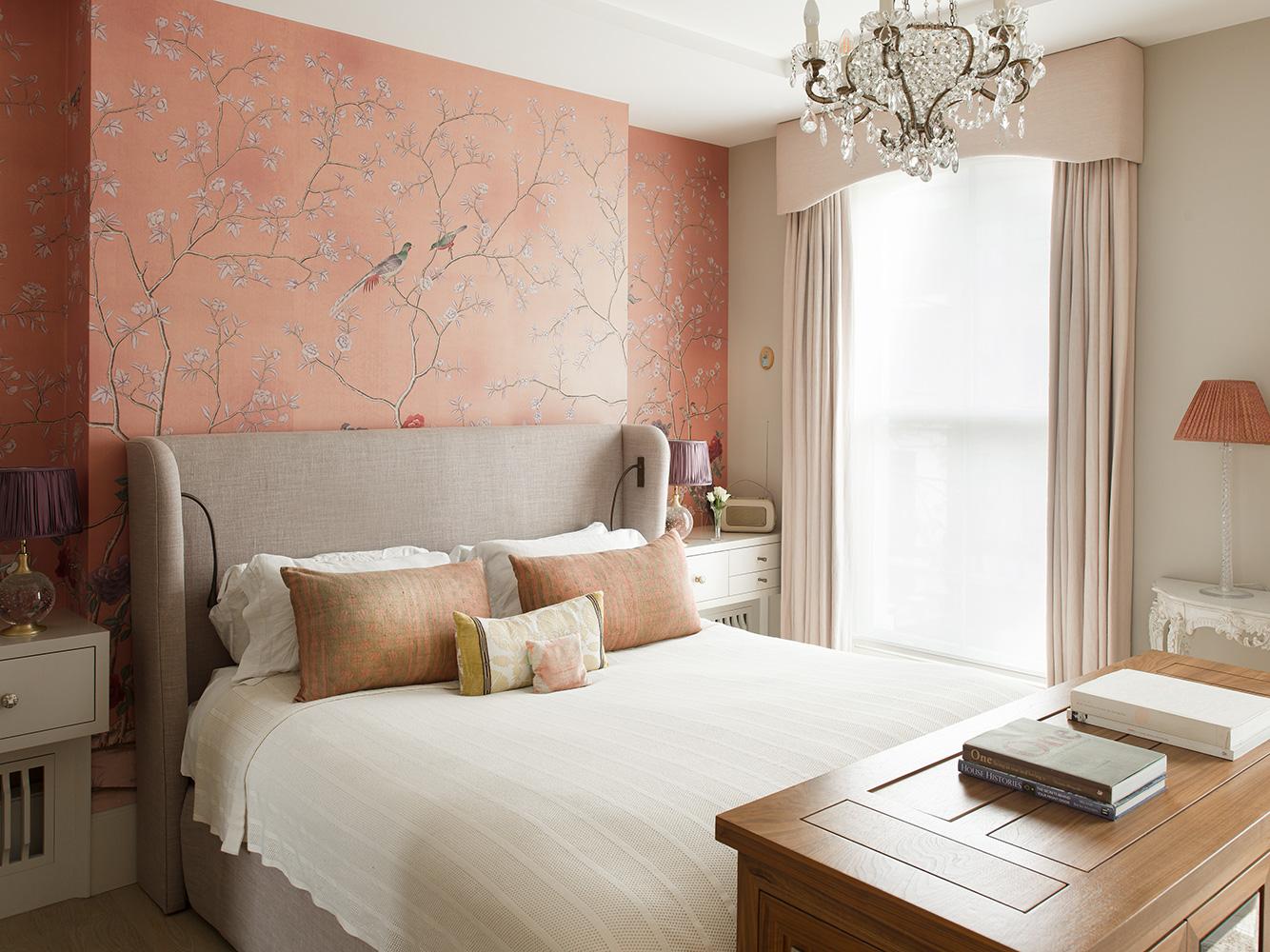 Master bedroom – interior design by Eadie & Crole