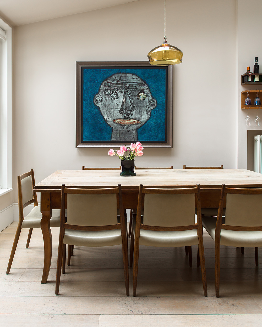 Dining area – interior design by Eadie & Crole