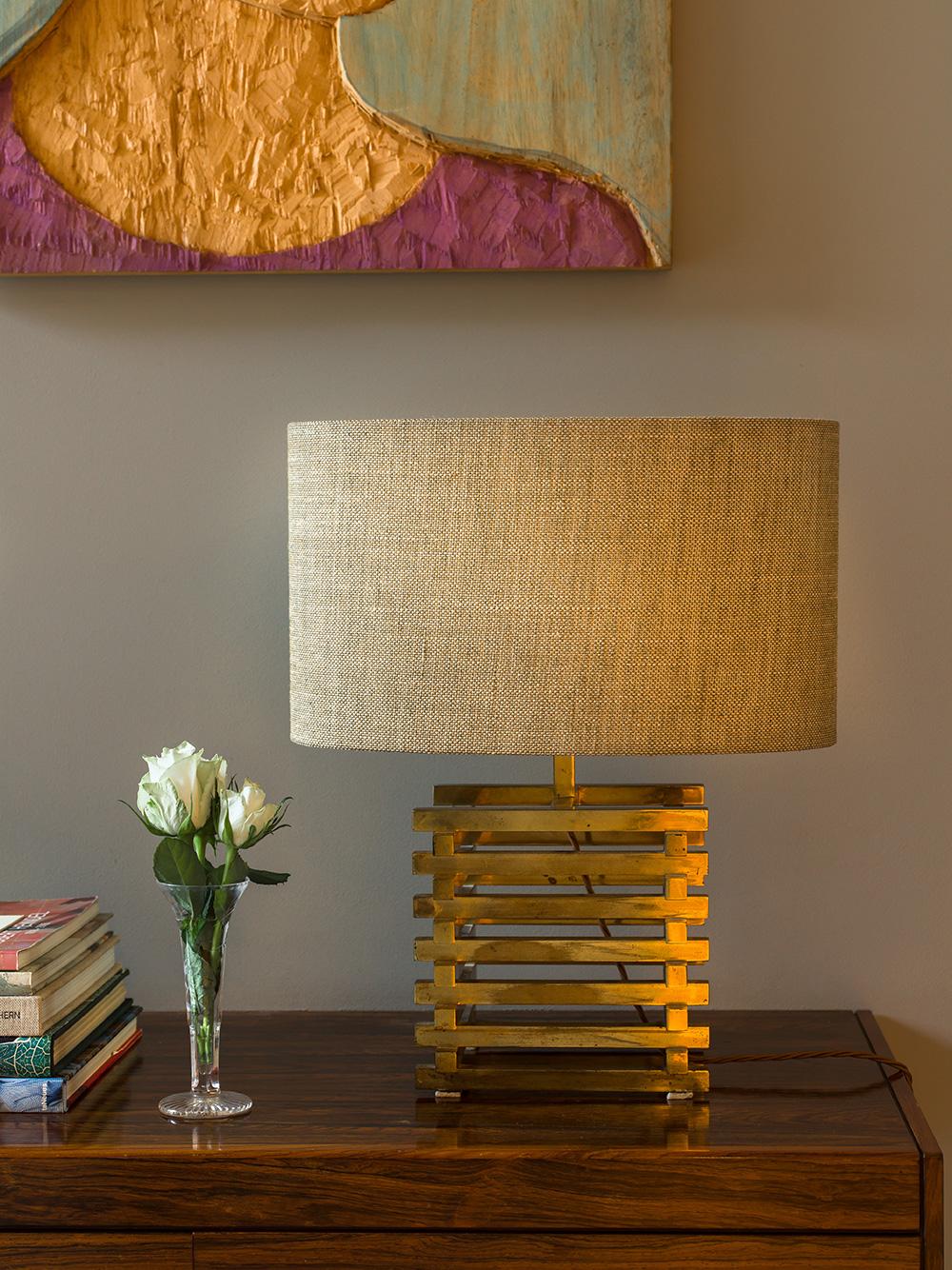 Lamp detail – interior design by Eadie & Crole