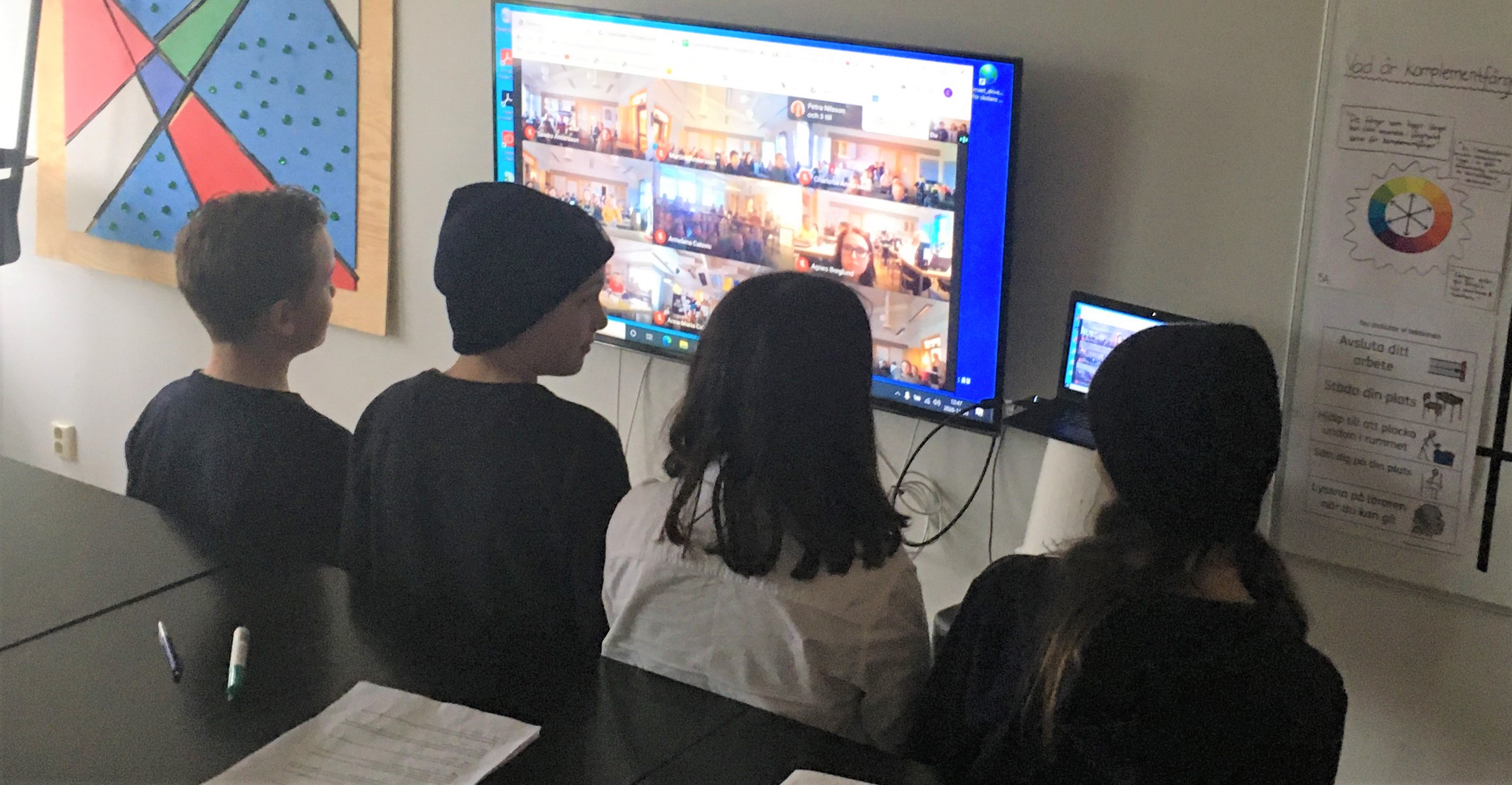 Digitalt möte & rastaktiviteter gav gemenskap