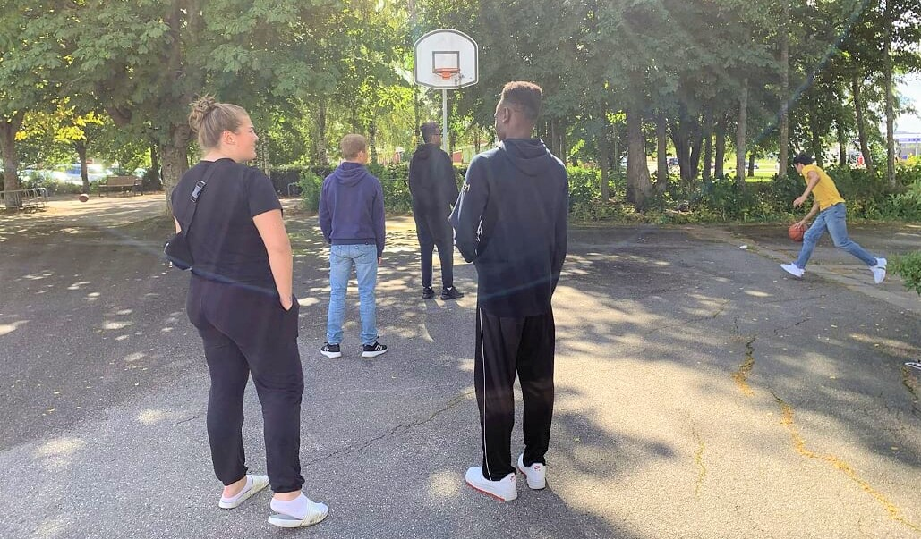 Basket på lunchrasten gav många positiva effekter