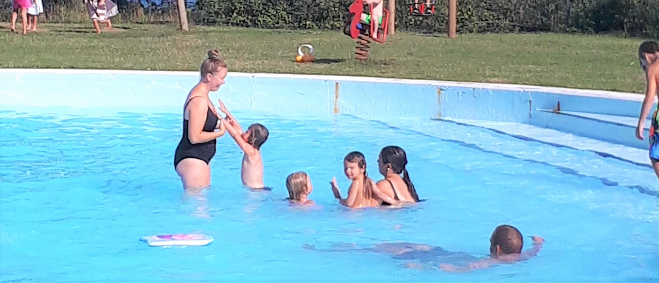Simning ökade fysiska och psykiska hälsan