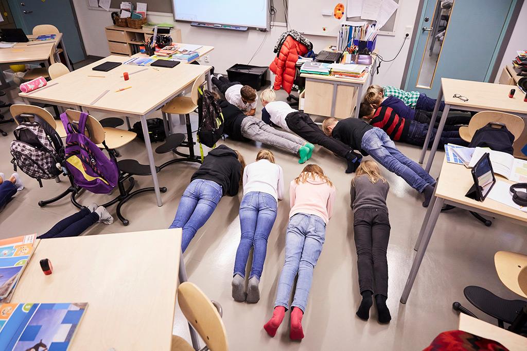 Skolrelaterade insatser för fysisk aktivitet