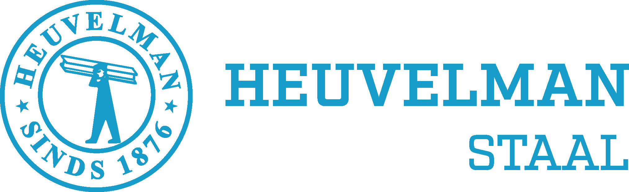 Logo Heuvelman staalhandel.