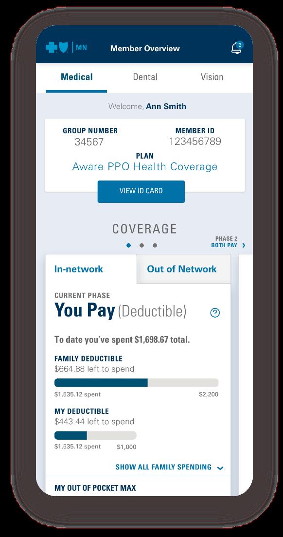 Target Optical slide out menu mobile