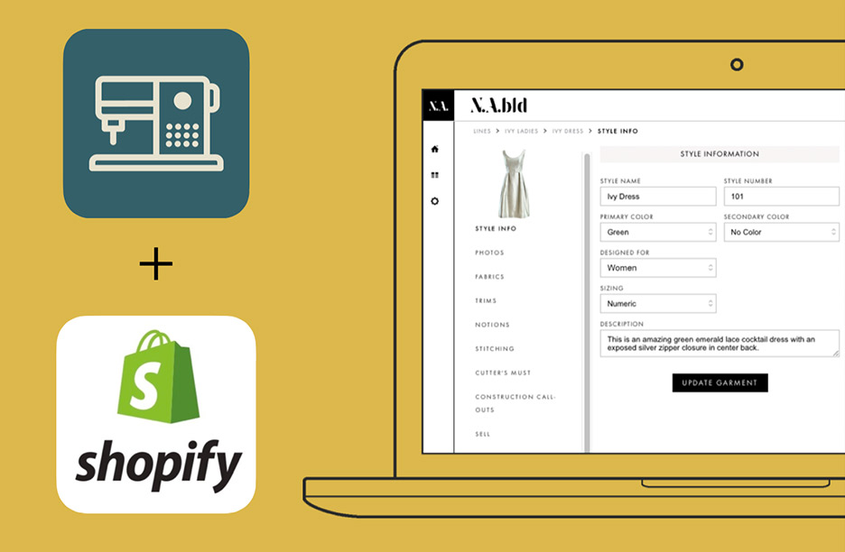 Shopify + N.A.bld = Inventory-free Retailing and On-demand Production Management