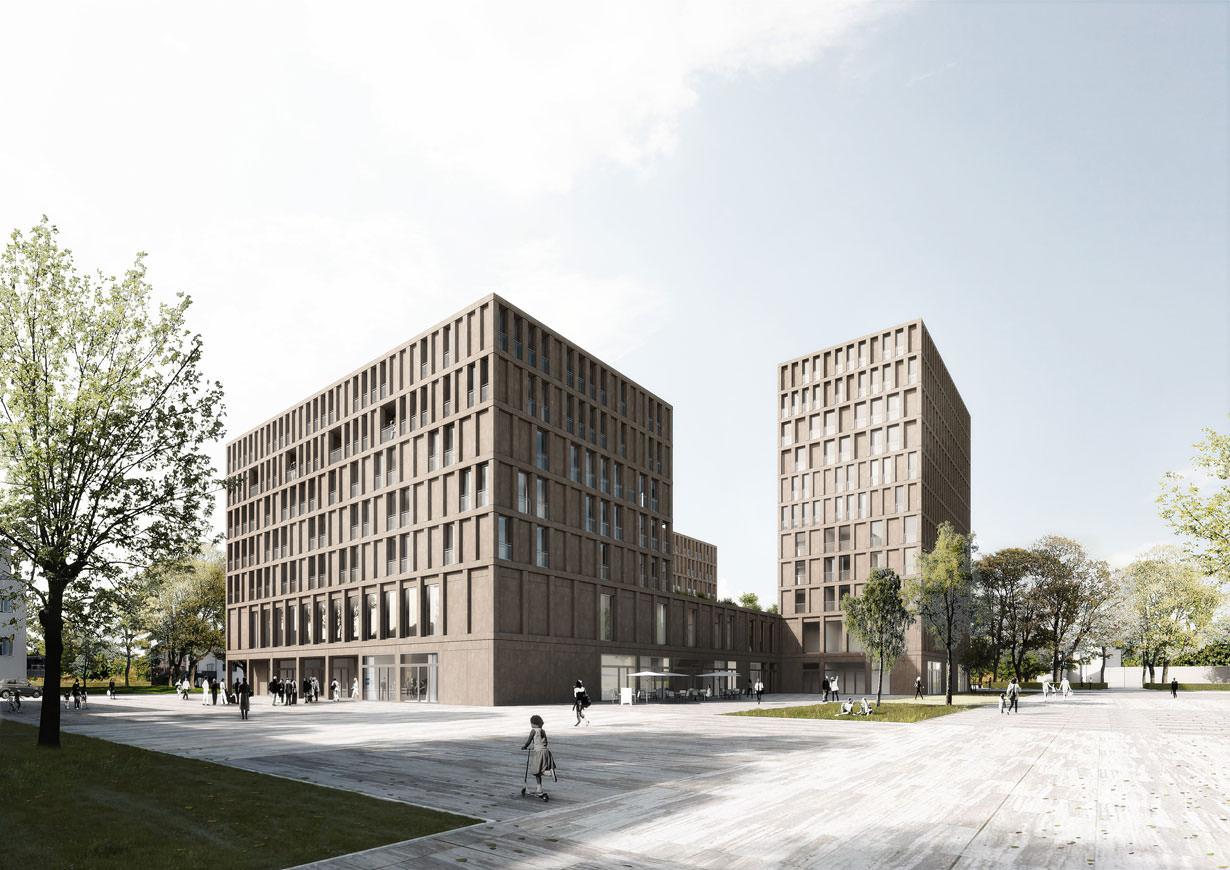 Teilnahme am Wettbewerbsverfahren »Zentrum am Hauptbahnhof«