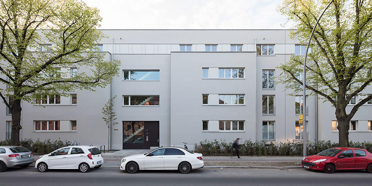 Neubau Gottlieb-Dunkel-Straße in der taz.am wochenende