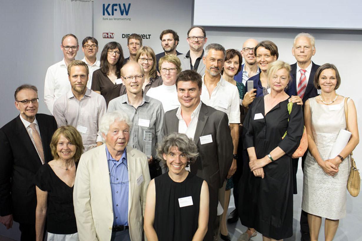 Zwei von fünf KfW-Awards 2016 gehen an DMSW