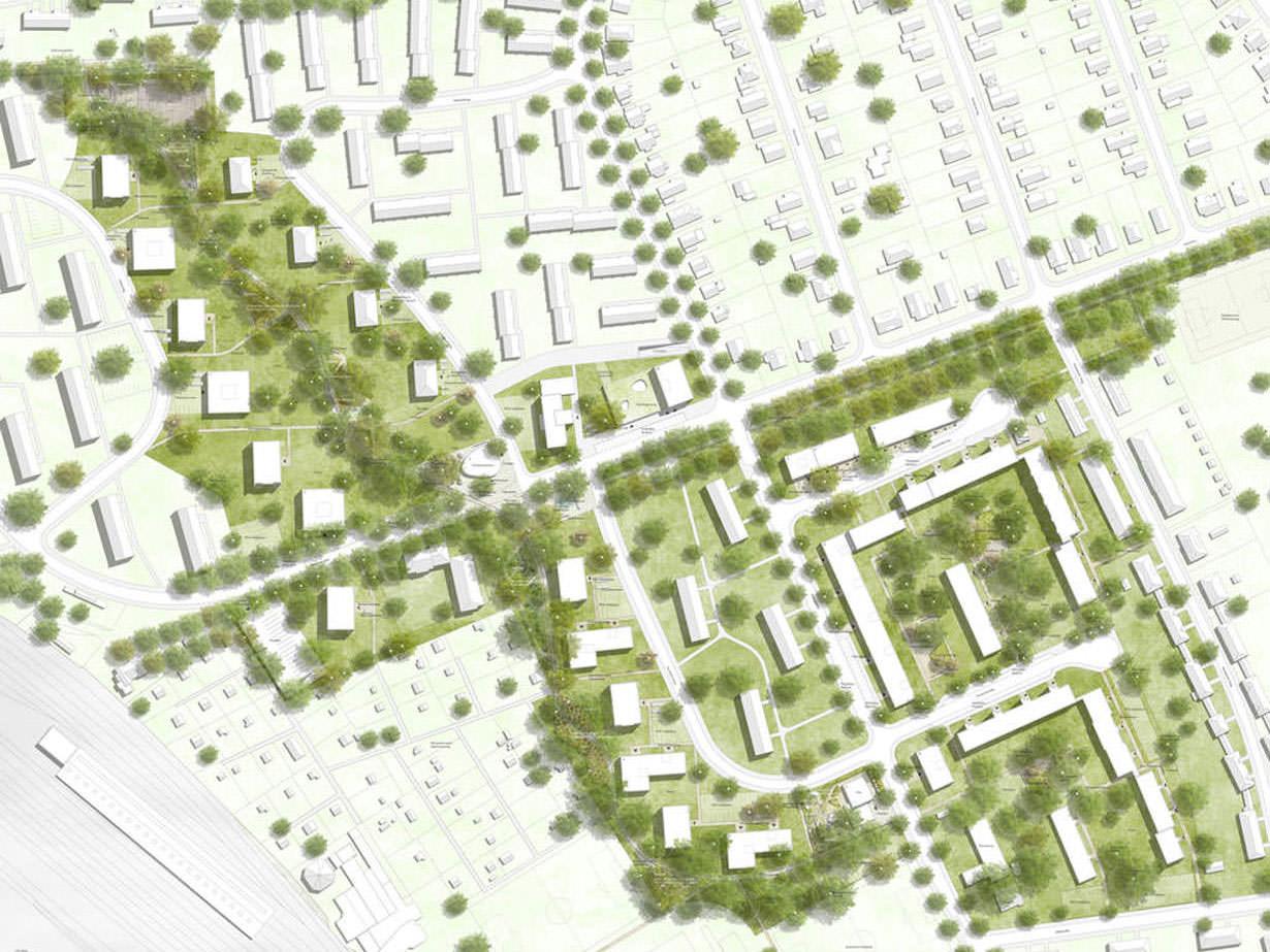 2. Preis bei städtebaulich-freiraumplanerischem Realisierungswettbewerb
