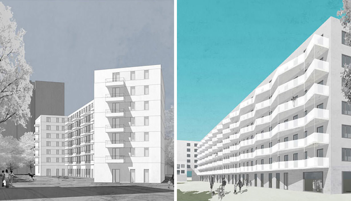 Zwei neue Bauvorhaben in Berlin