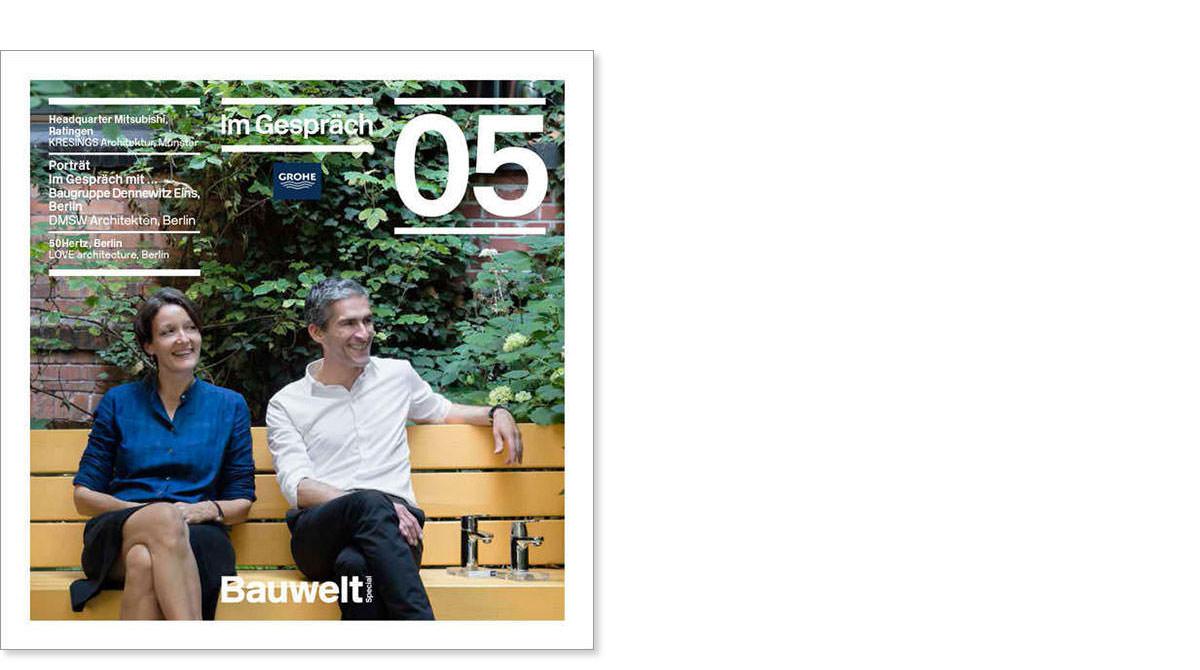 Büroporträt und Interview im »Bauwelt Special 05«