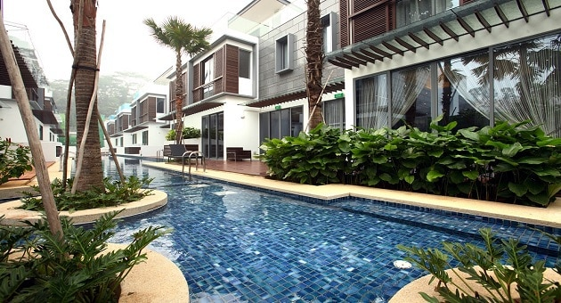 house in Singapore with pool