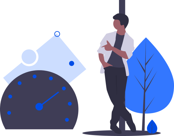 Commerce Accelerators - Woman sitting on a clock