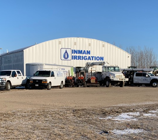 inman irrigation building