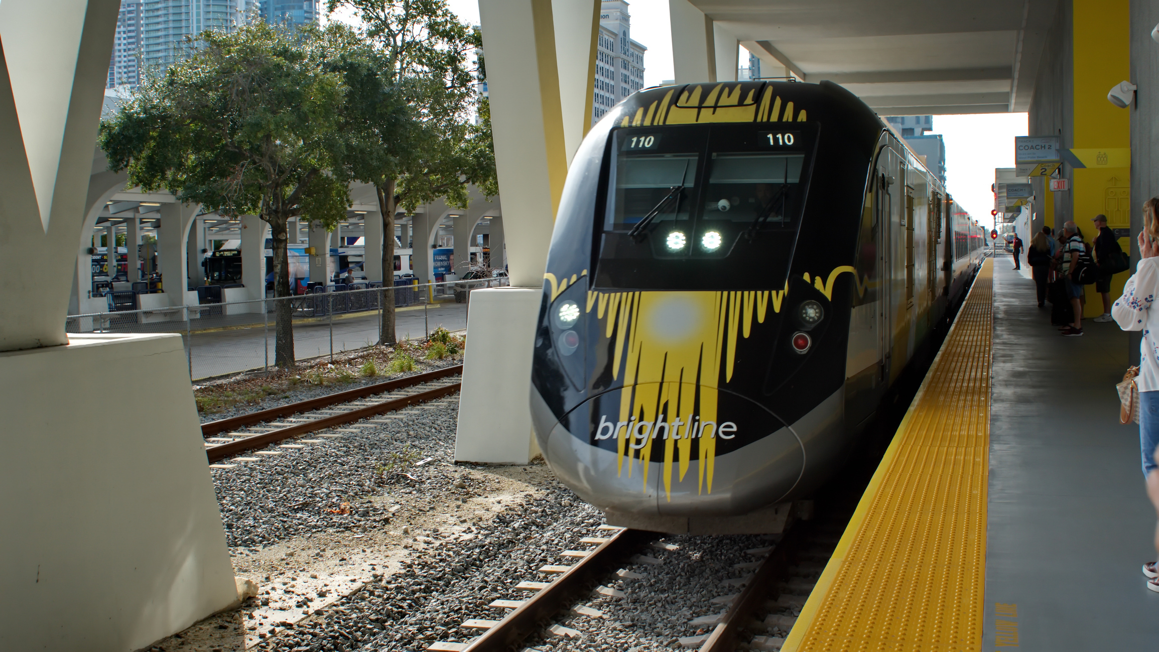 Miami Brightline Train