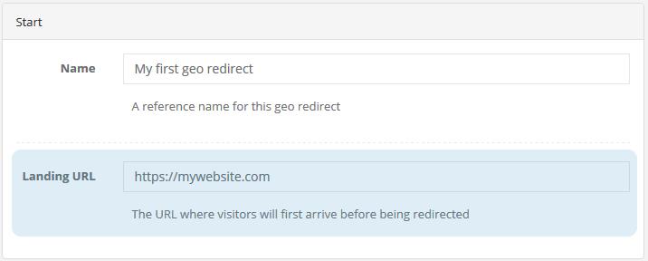 shopify geo redirect step 1