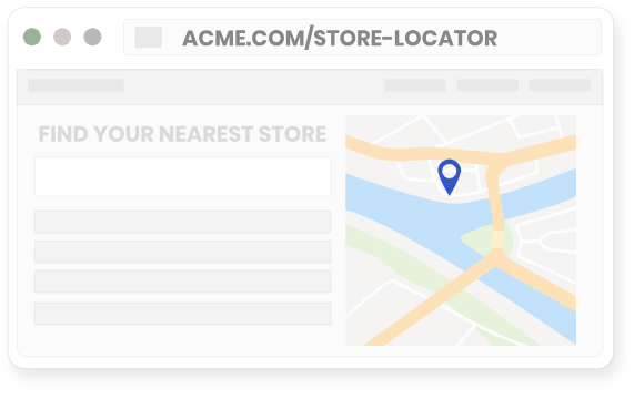 website geolocation