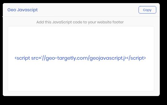 geolocation javascript