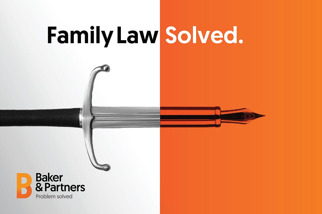 Baker & Partners branding example 1