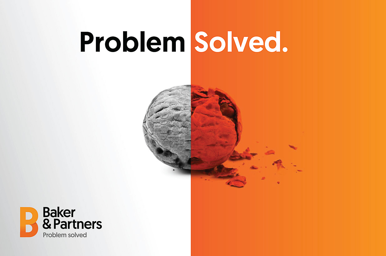 Baker & Partners branding example 2