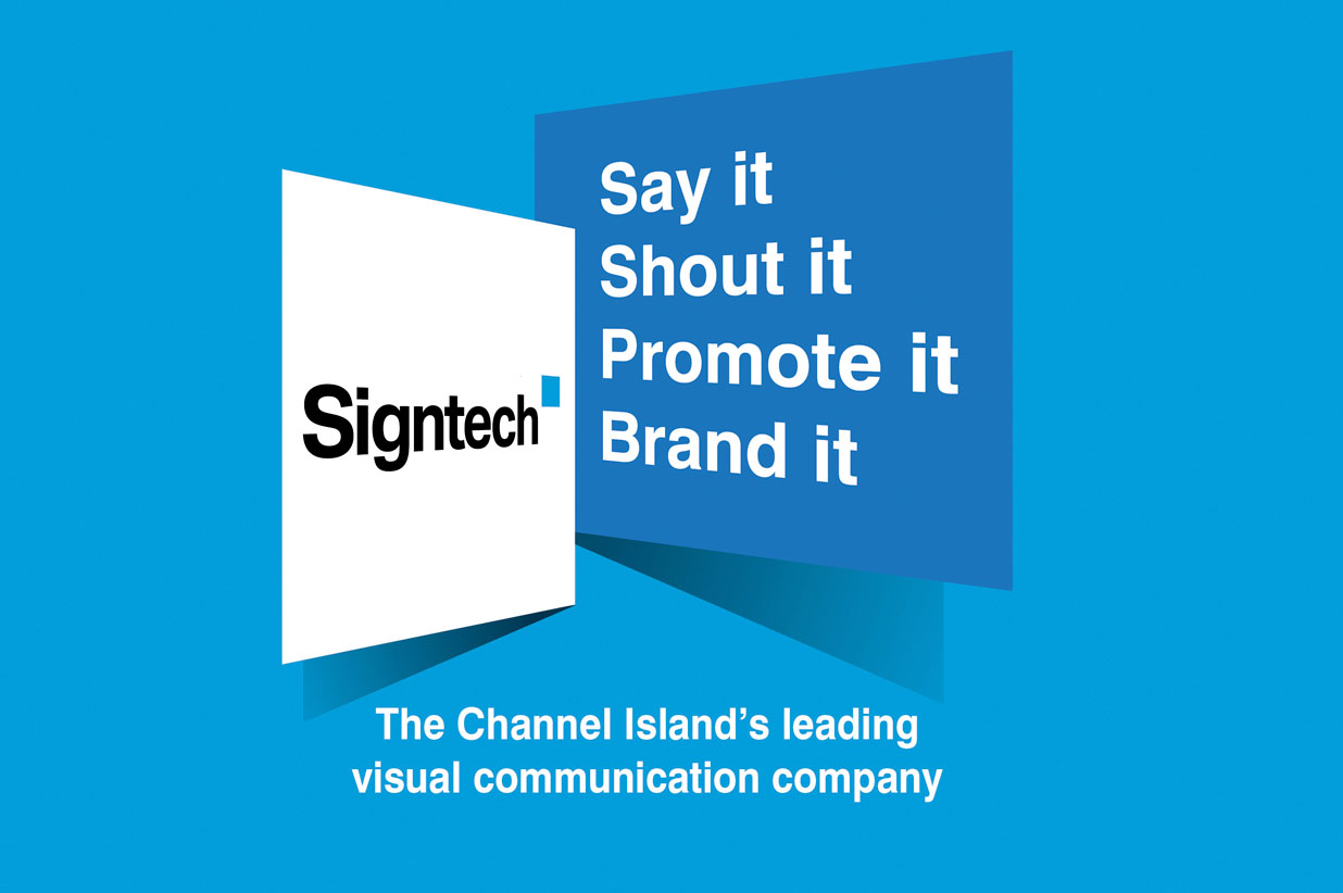 Signtech logo and branding