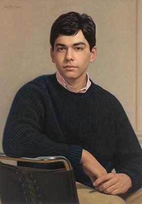 Oil Portrait Award by Marvin Mattelson