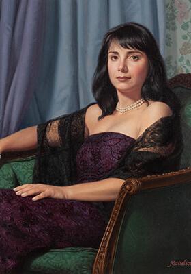 Custom Women's Portrait by Marvin Mattelson