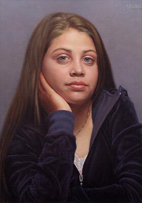 Teen Portrait by Marvin Mattelson