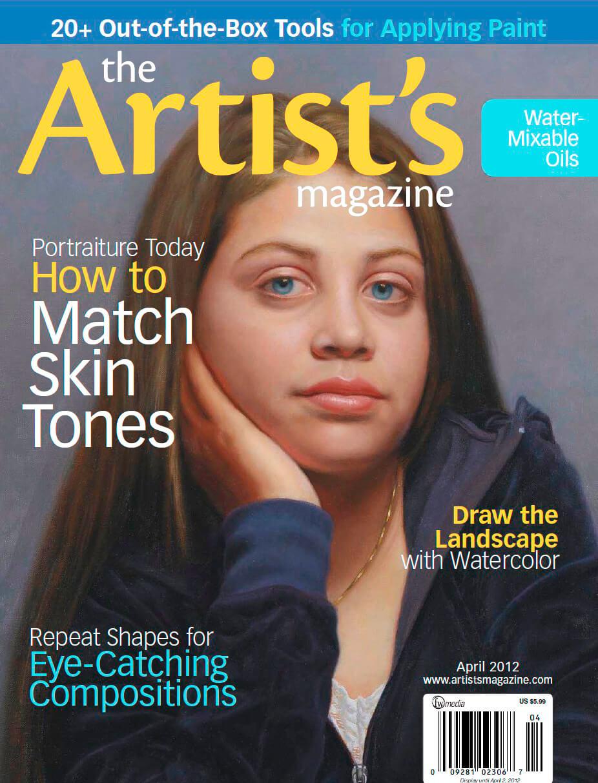 Artists magazine Cover by Marvin Mattelson Portrait Artist